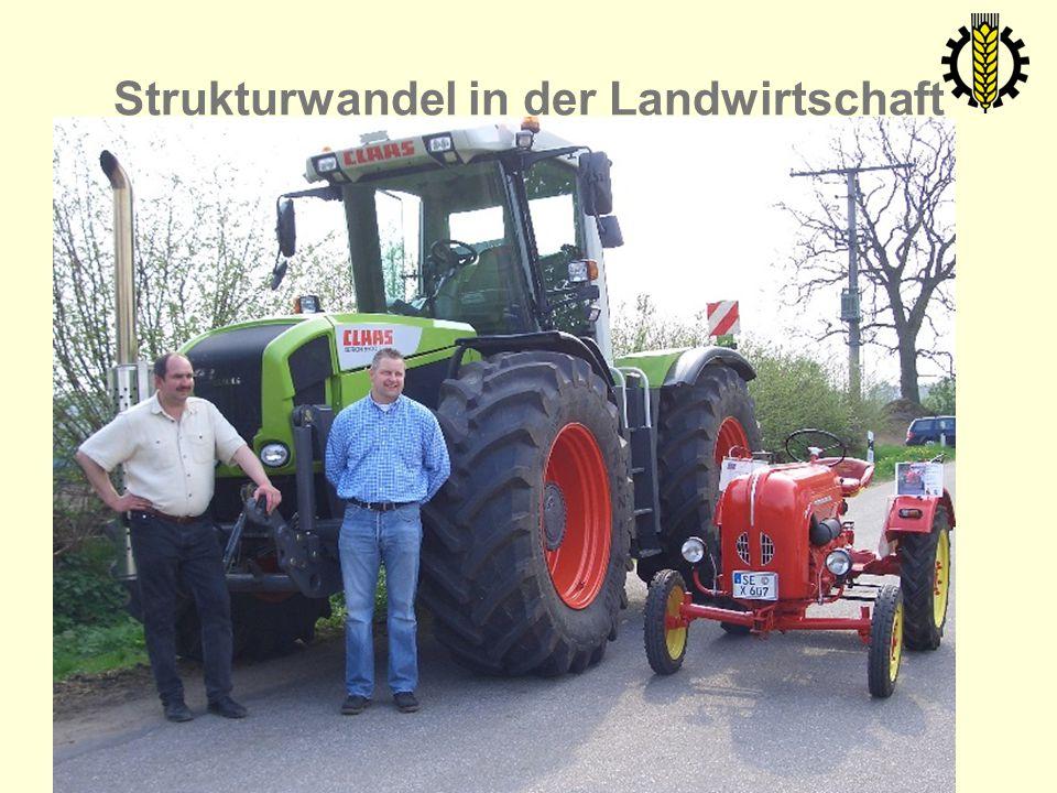 Strukturwandel in der Landwirtschaft