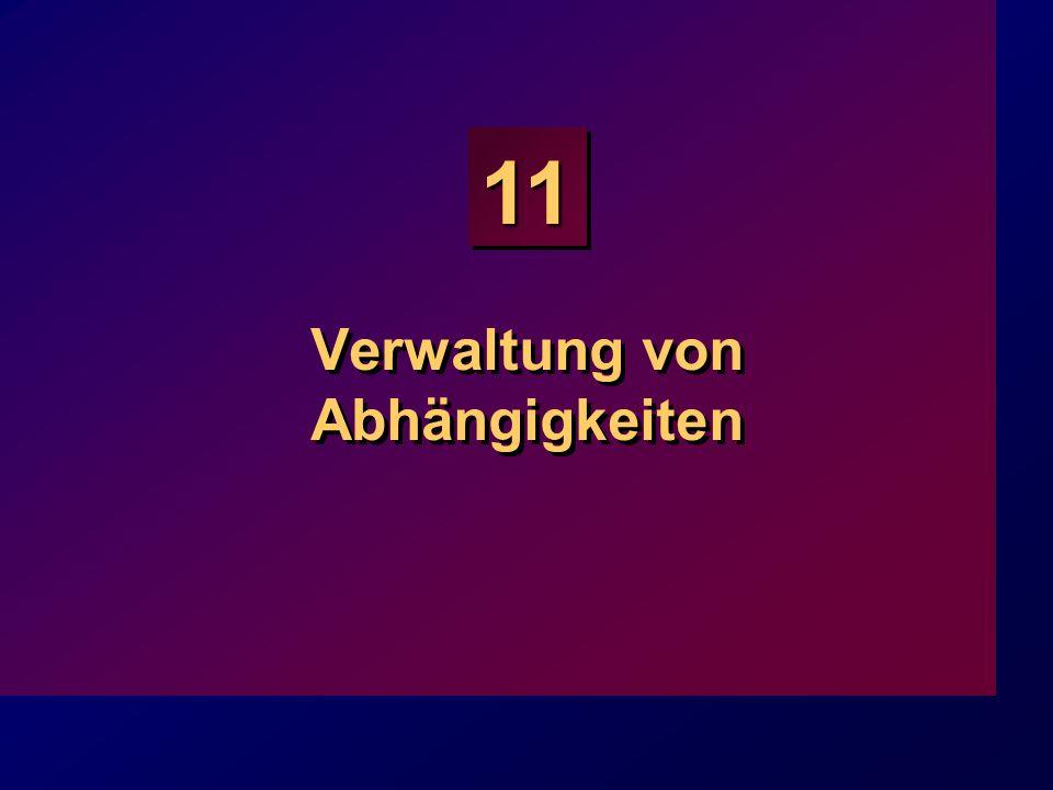 11 Verwaltung von Abhängigkeiten