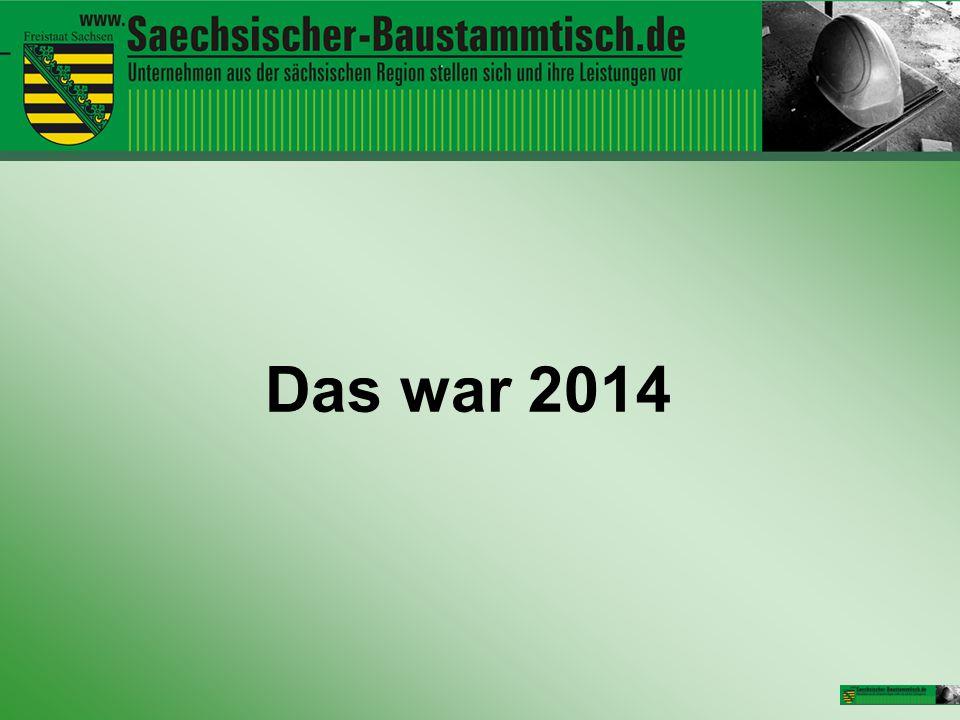Veranstaltungen 2014 13.03.2014 Sächsischer Baustammtisch in Stollberg