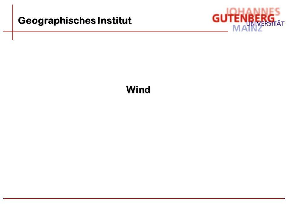 Geographisches Institut Wind