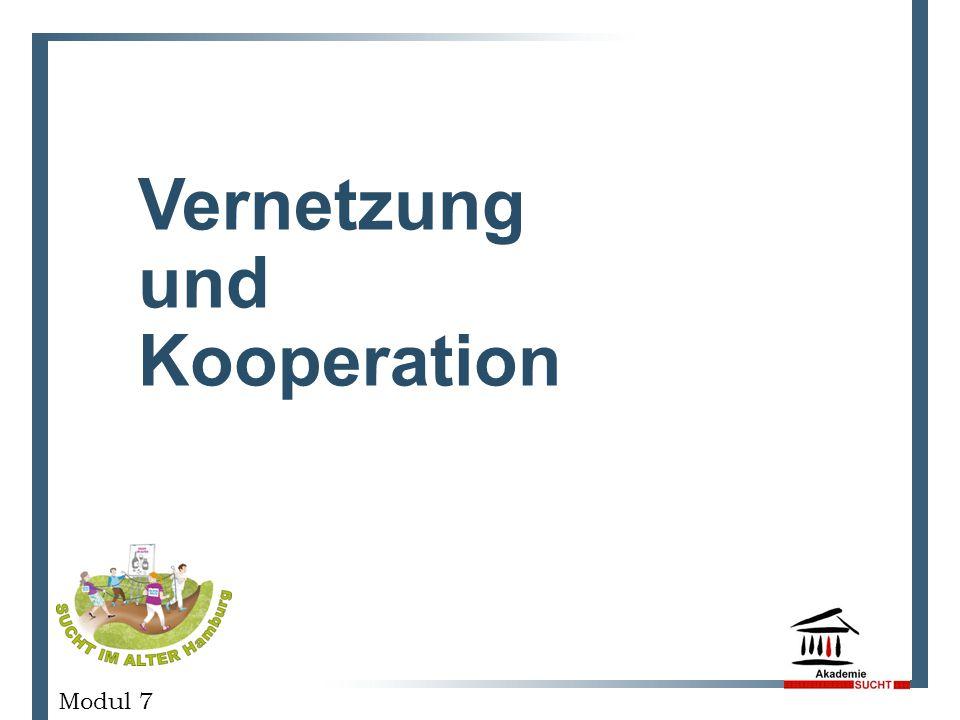 Vernetzung und Kooperation GESCHÄFTSPLANPRÄSENTATION Modul 7