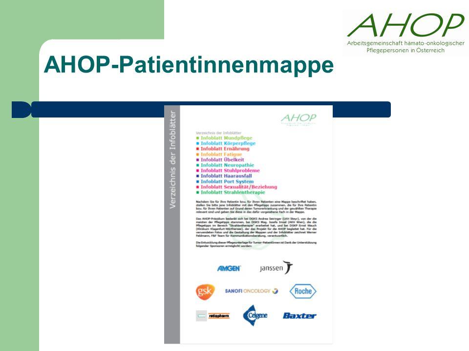 AHOP-Patientinnenmappe