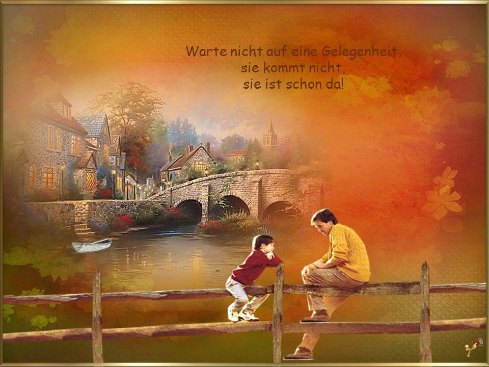 Leben ist wie ein Regenbogen: Du brauchst die Sonne und den Regen, um die Farben zu sehen.
