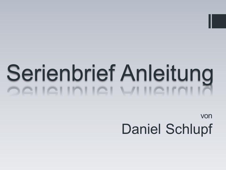 von Daniel Schlupf