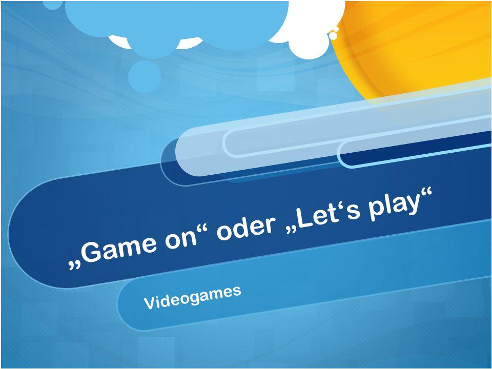 Videospiel.Wann genau ist es eins.