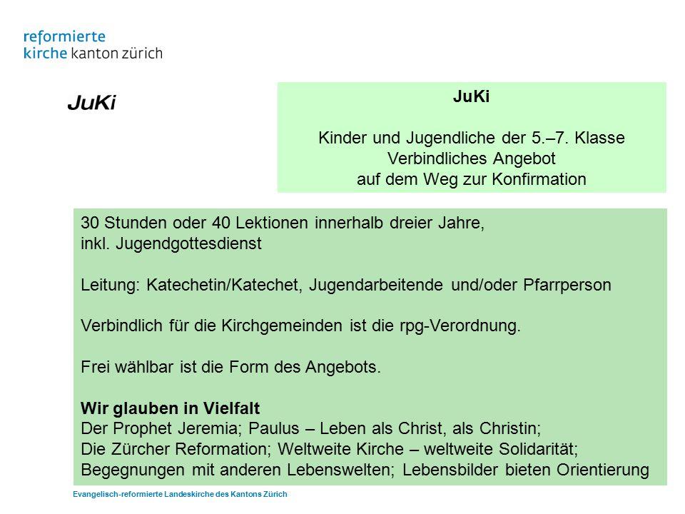 JuKi Kinder und Jugendliche der 5.–7.