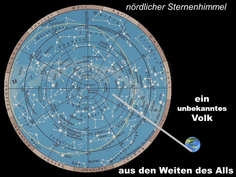 nördlicher Sternenhimmel aus den Weiten des Alls einunbekanntesVolk