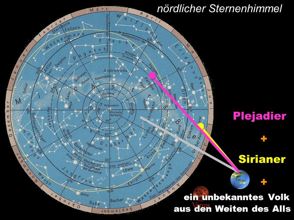 nördlicher SternenhimmelSirianer + Plejadier + Venus ein unbekanntes Volk aus den Weiten des Alls