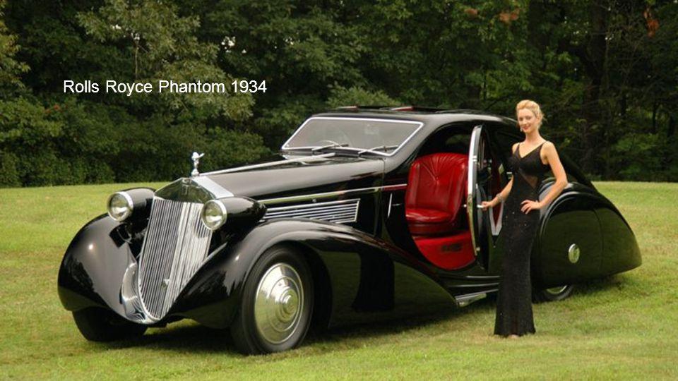 Rolls Royce Phantom 1934