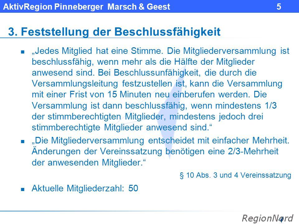 AktivRegion Pinneberger Marsch & Geest 6 4.
