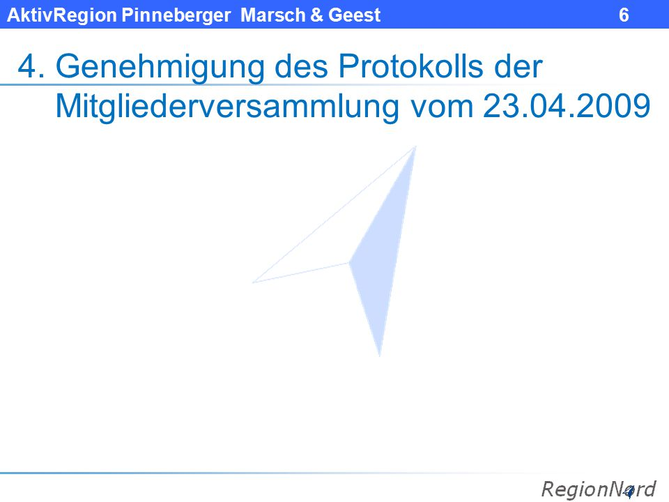 AktivRegion Pinneberger Marsch & Geest 7 5.