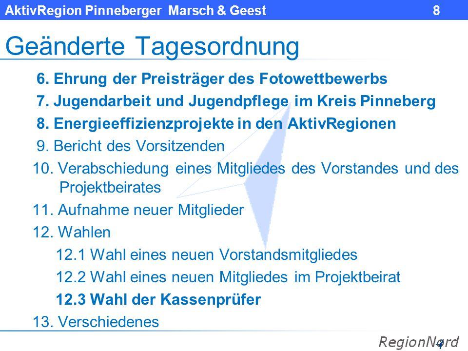 AktivRegion Pinneberger Marsch & Geest 9 6.
