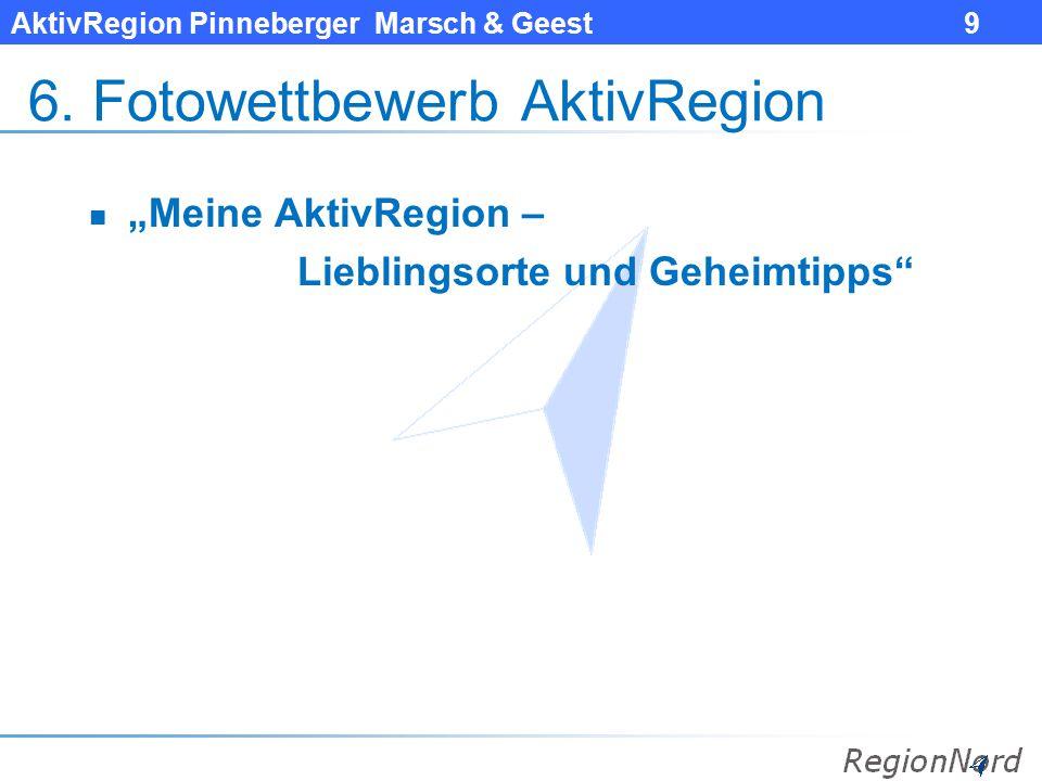 AktivRegion Pinneberger Marsch & Geest 10 7.