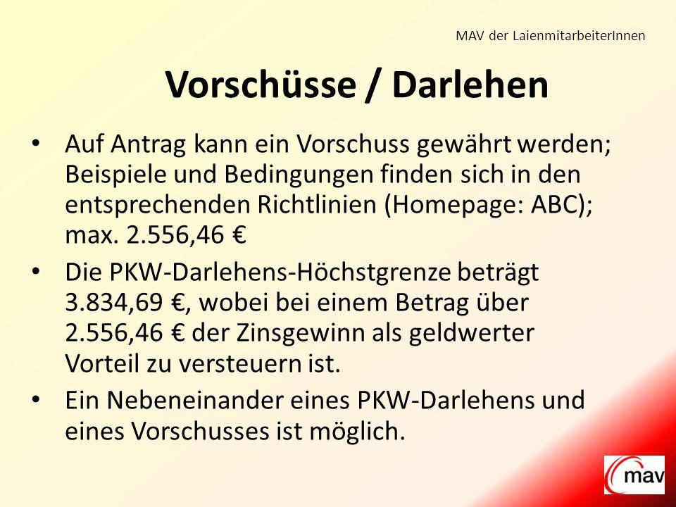 MAV der LaienmitarbeiterInnen Barbara MeierVeronika Pielken Michael Wrage Supervisoren