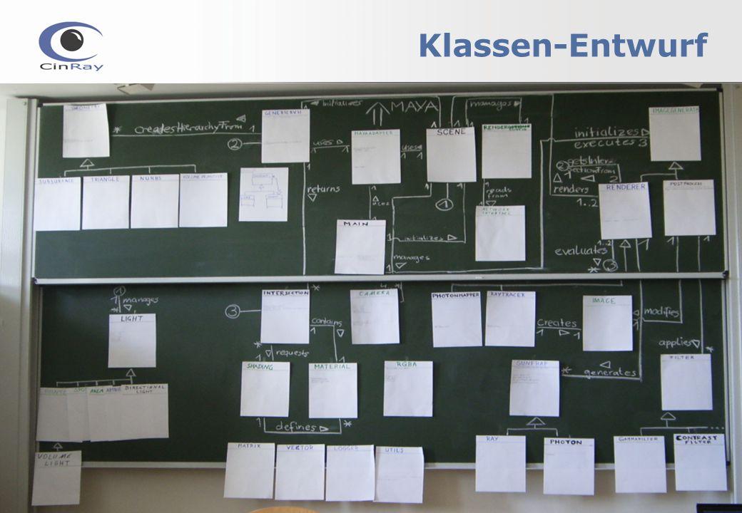 Klassen-Entwurf