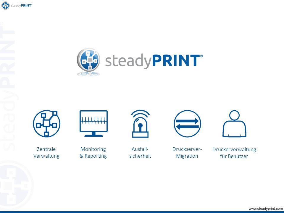 Zentrale Verwaltung: Wartungsmodus für Drucker