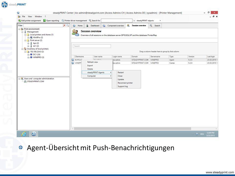 Agent-Übersicht mit Push-Benachrichtigungen Sp-center-087