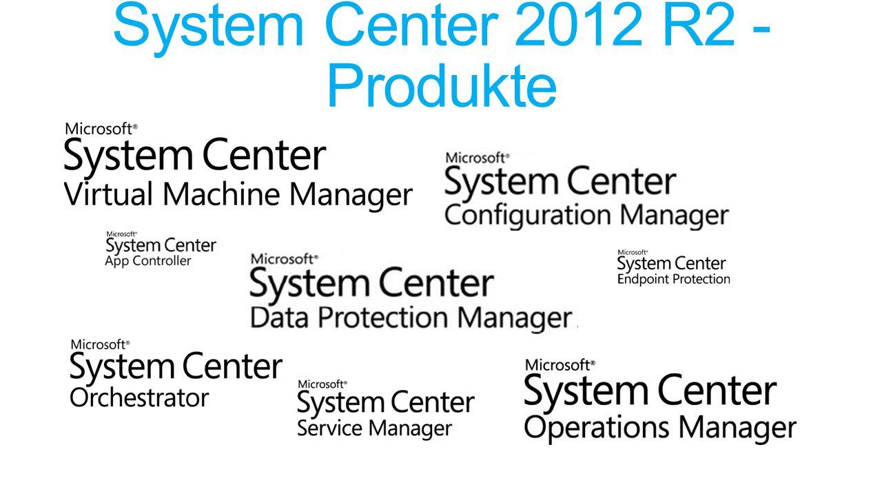 System Center 2012 R2 - Produkte