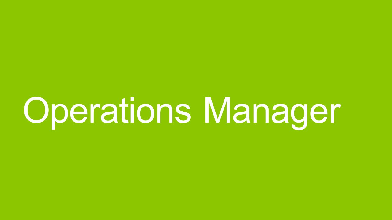 System Center Operations Manager Monitoring der IT-Infrastruktur Management Packs