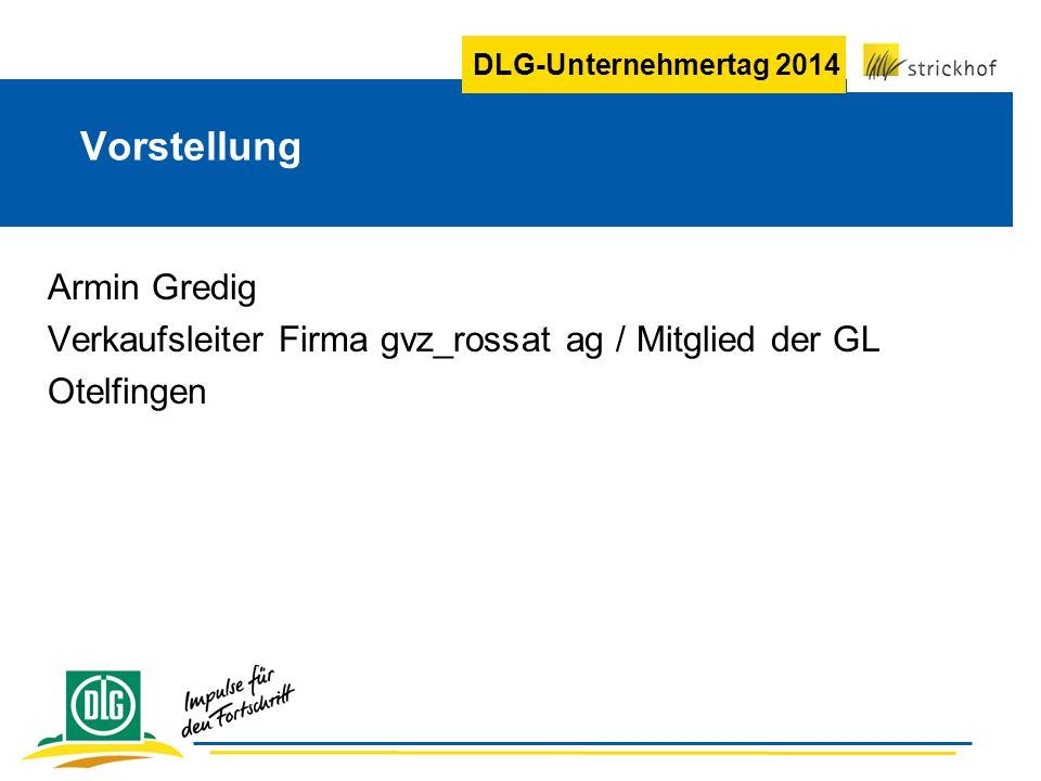 DLG-Unternehmertag 2014 Betrieb Handelsbetrieb für alle Produkte des Erwerbsgartenbaus und der Landwirtschaft.