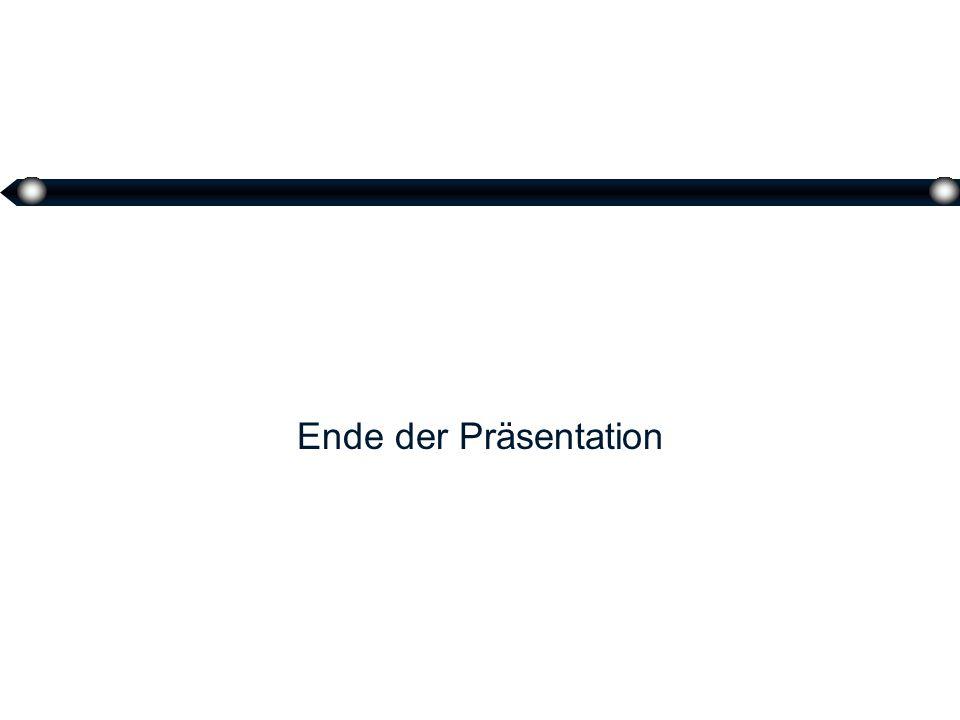 39 Ende der Präsentation