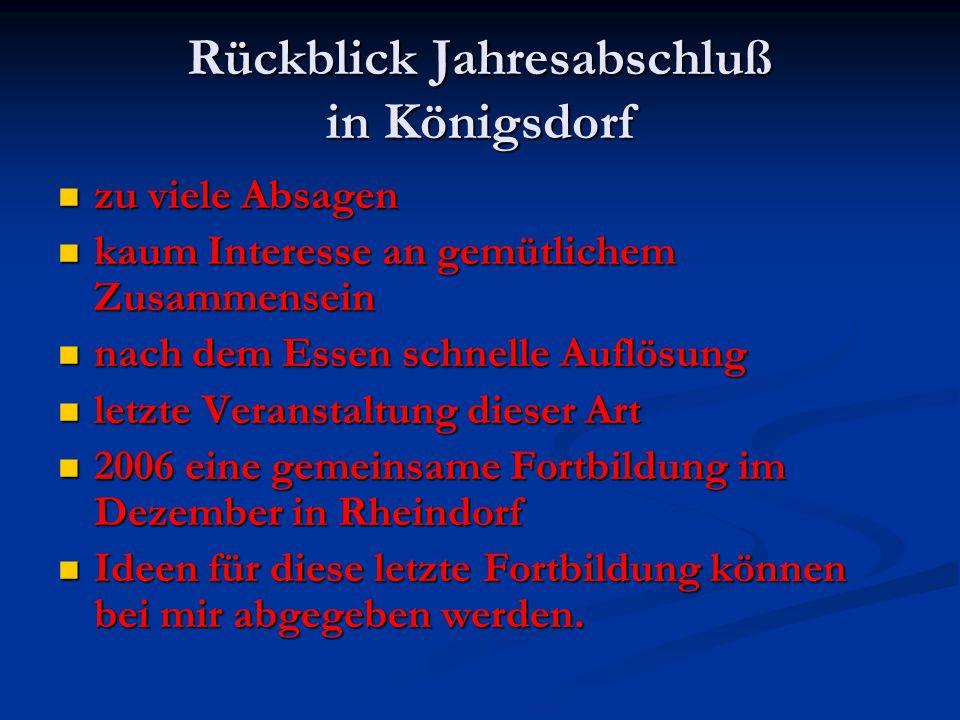 Regelergänzungen/ Regelauslegungen Gültig ab 01.02.2006