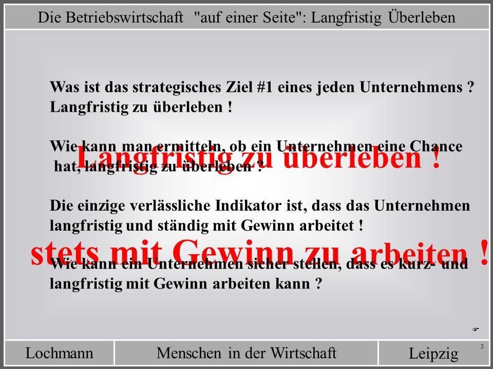 LochmannMenschen in der Wirtschaft Leipzig 3 Die Betriebswirtschaft