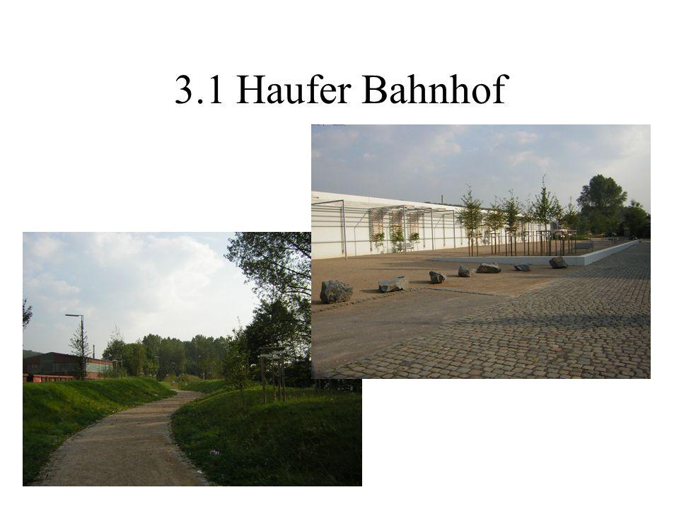 3.1 Haufer Bahnhof