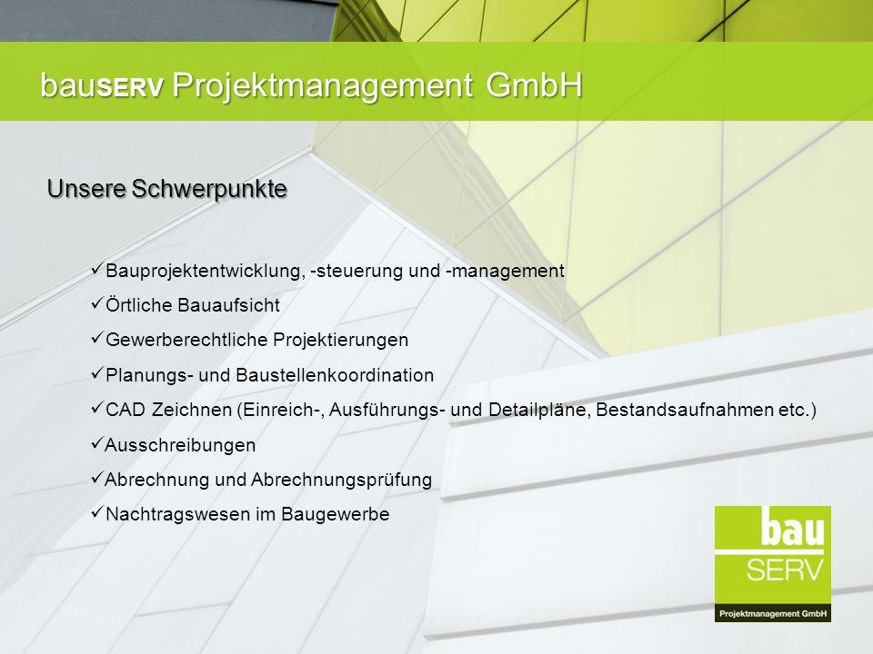 bau SERV Projektmanagement GmbH Flexibilität Flexibilität ist in unserer Zeit nicht mehr weg zu denken.