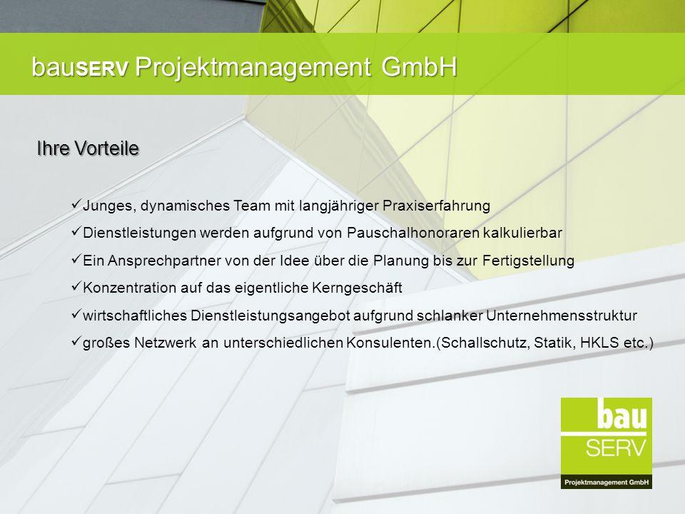 bau SERV Projektmanagement GmbH Ein Auszug unserer letzten Projekte Premium Biomühle in St.