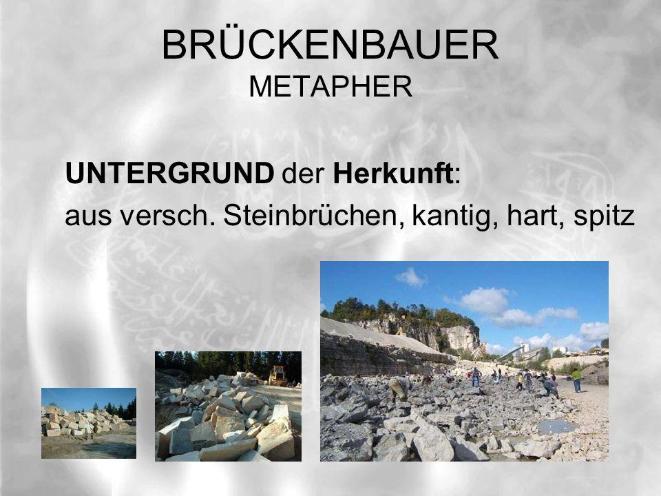 BRÜCKENBAUER METAPHER HINTERGRUND der Zukunft: hinter dem NEBEL des Ungewissen Manifestation durch des GEISTES Licht