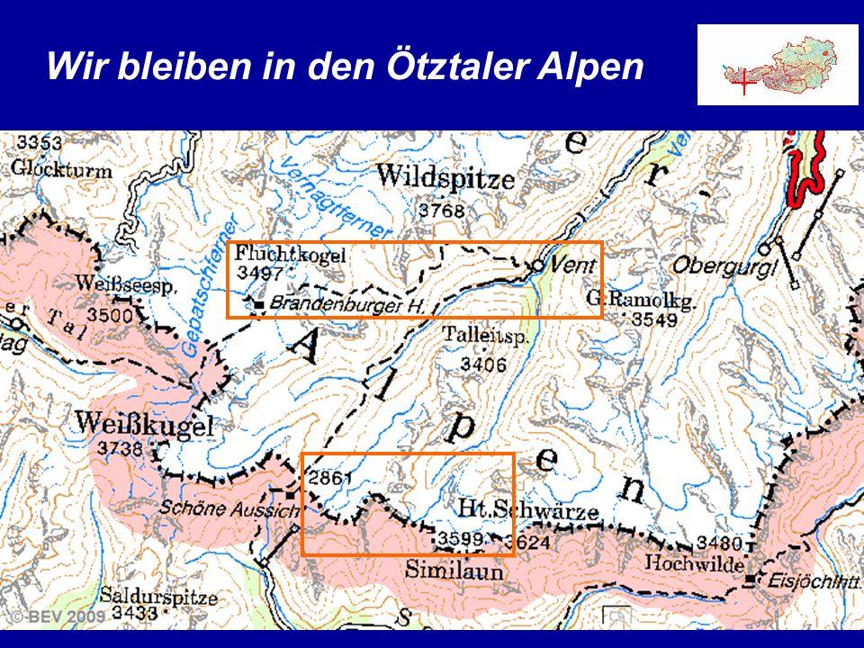 Wir bleiben in den Ötztaler Alpen