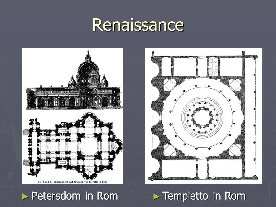 Renaissance ► Petersdom in Rom ► Tempietto in Rom