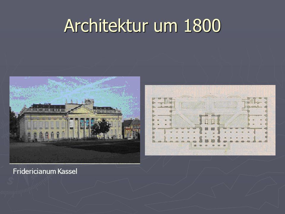 Architektur um 1800 Fridericianum Kassel