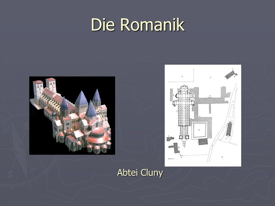Die Romanik Abtei Cluny
