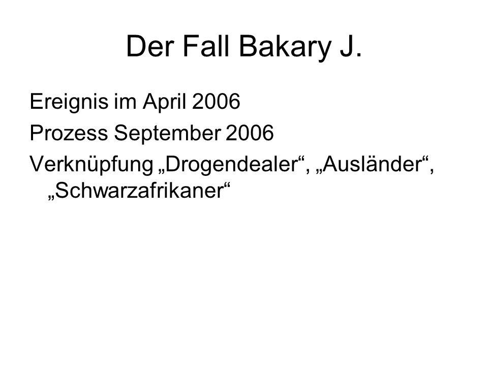 Der Fall Bakary J.