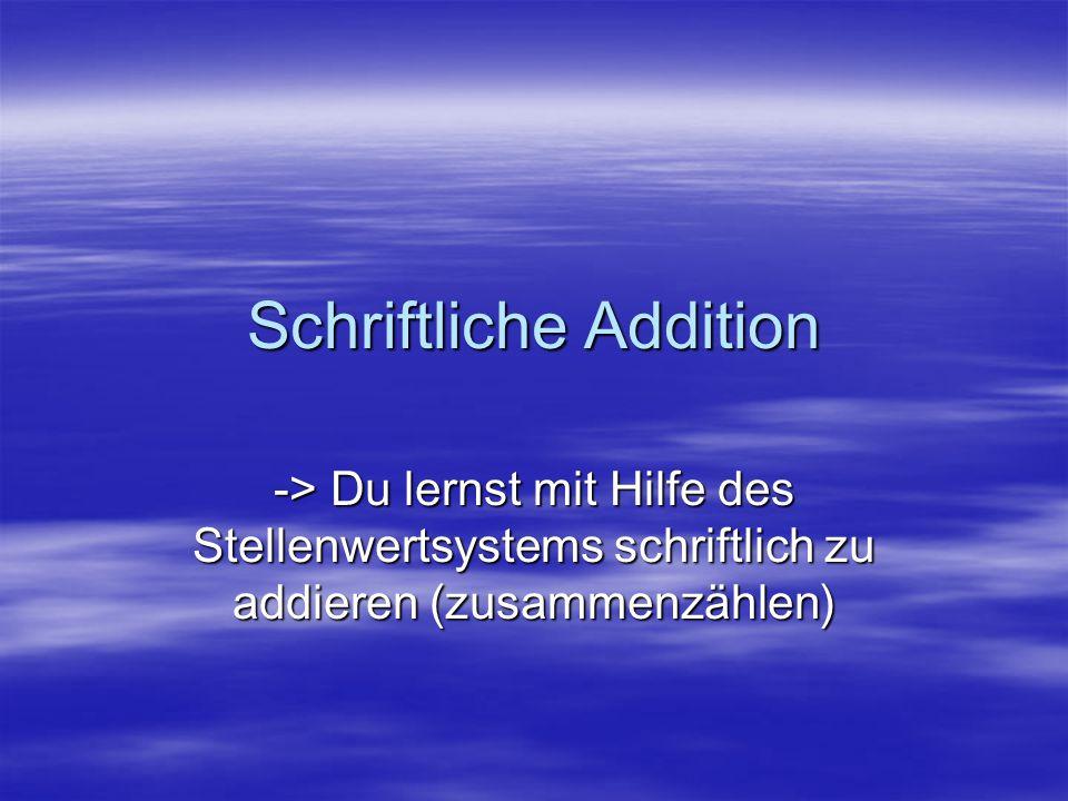 Additionen