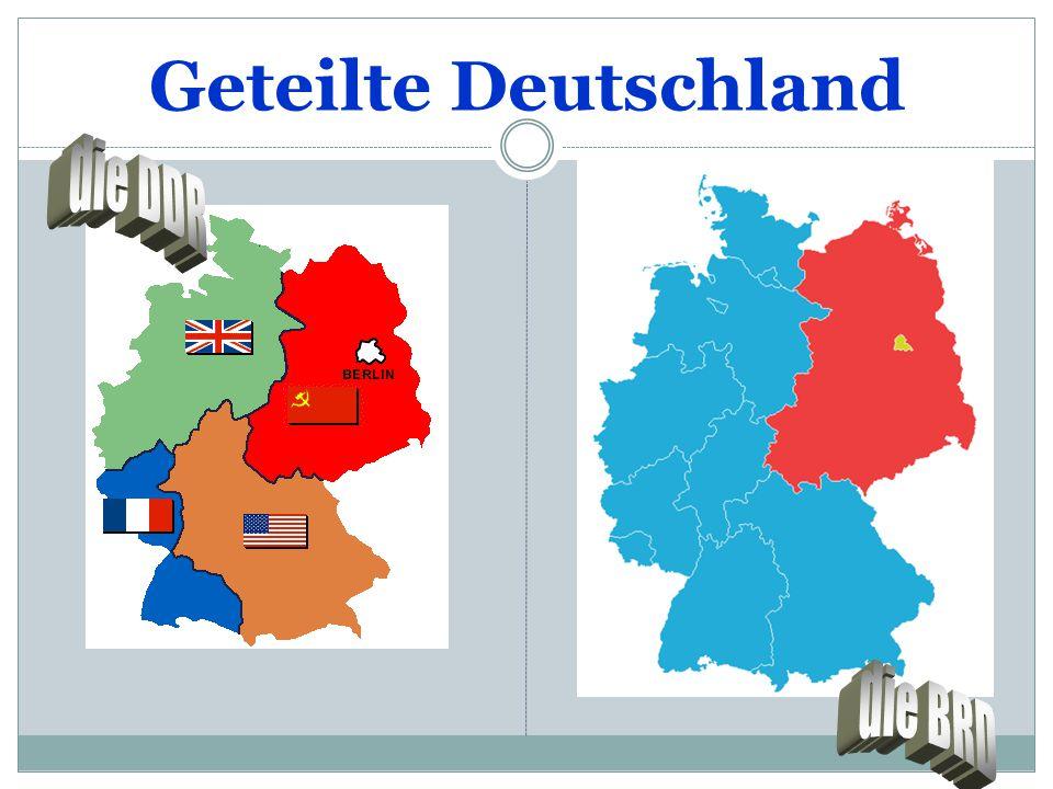 Geteilte Deutschland