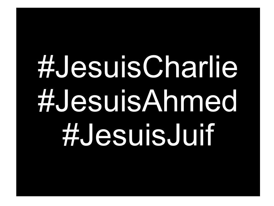 #JesuisCharlie #JesuisAhmed #JesuisJuif