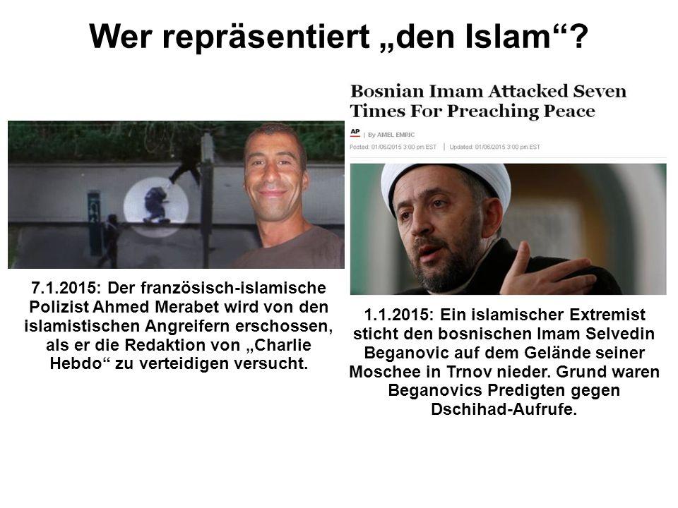 """7.1.2015: Der französisch-islamische Polizist Ahmed Merabet wird von den islamistischen Angreifern erschossen, als er die Redaktion von """"Charlie Hebdo zu verteidigen versucht."""
