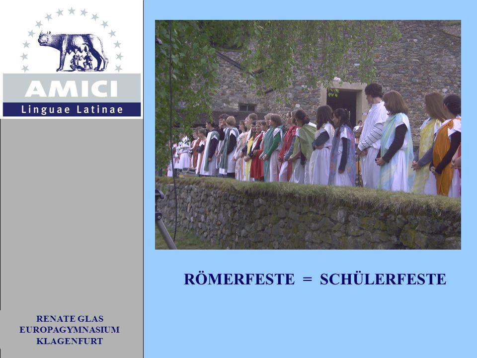RENATE GLAS EUROPAGYMNASIUM KLAGENFURT RÖMERFEST 2004