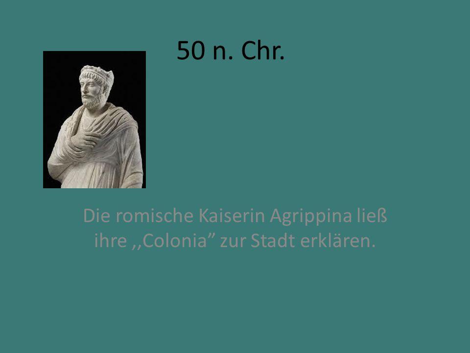 785 Karl der Große grundet das Erzbistum.