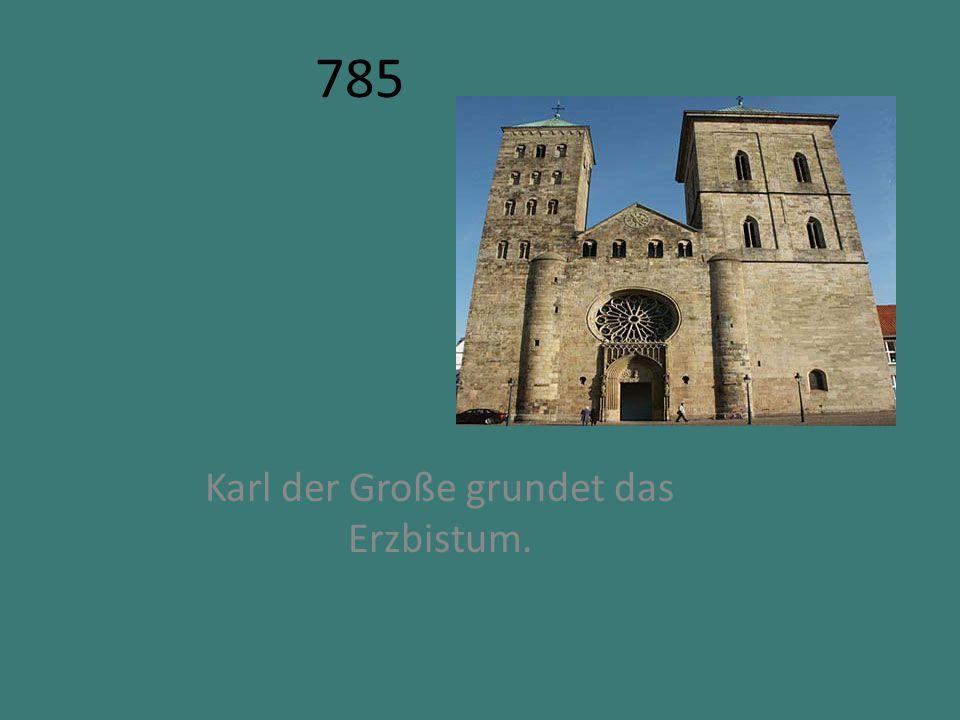 1164 Der Kolner Erzbischof Rainald von Dassel bringt die Reliwuien der Heiligen Drei nach Koln.