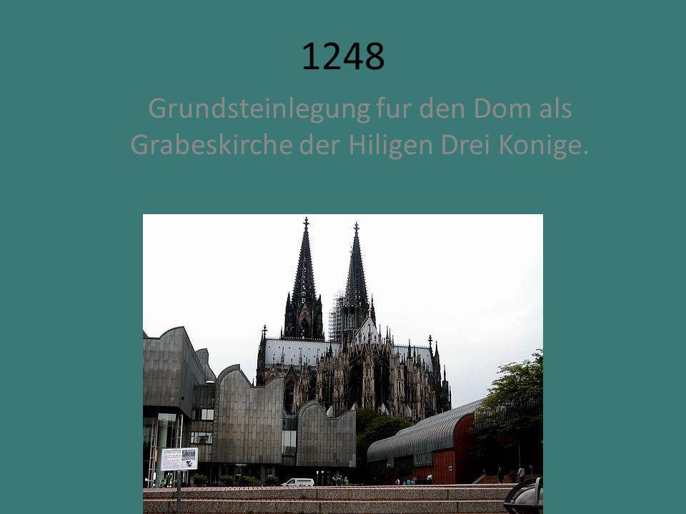 1388 Die Universitat Koln wird gegrundet.