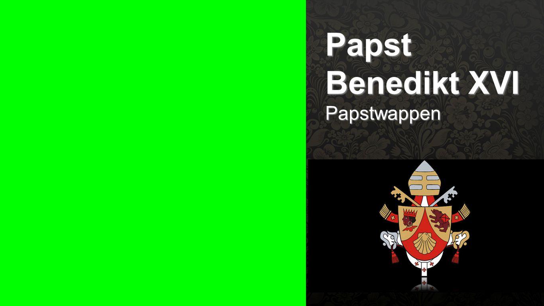 Seiteneinblender Papst Benedikt XVI Papstwappen
