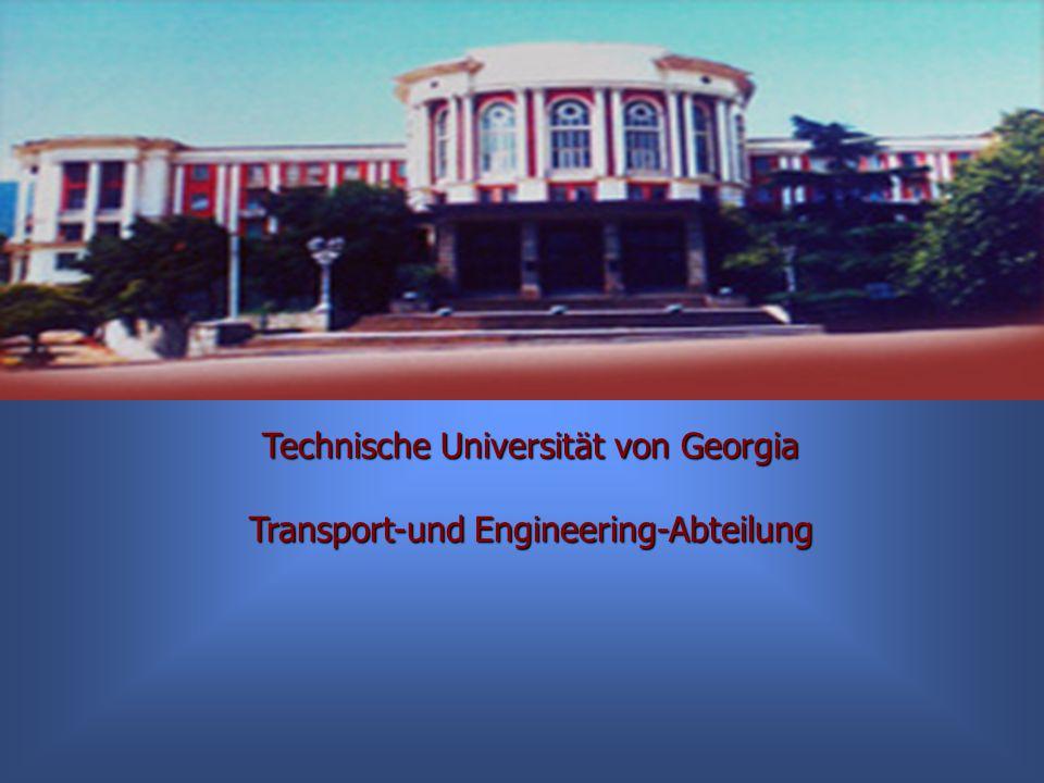 Technische Universität von Georgia Transport-und Engineering-Abteilung