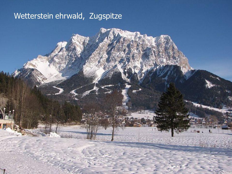 Wetterstein ehrwald, Zugspitze