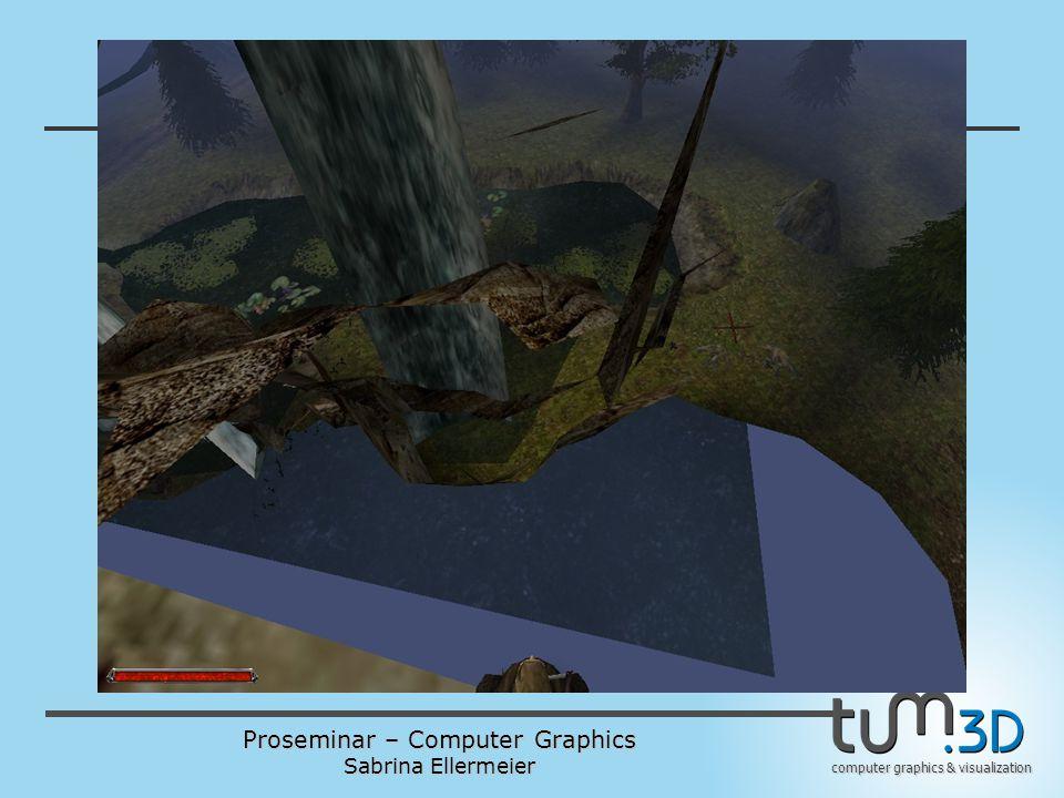 Proseminar – Computer Graphics Sabrina Ellermeier computer graphics & visualization