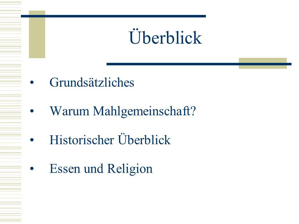 """Mahlgemeinschaft und Rituale LV """"Hunger und Konsum Elisabeth Schrenk und Dieter Annerl 24.11.2004"""