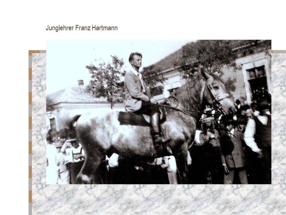 Junglehrer Franz Hartmann